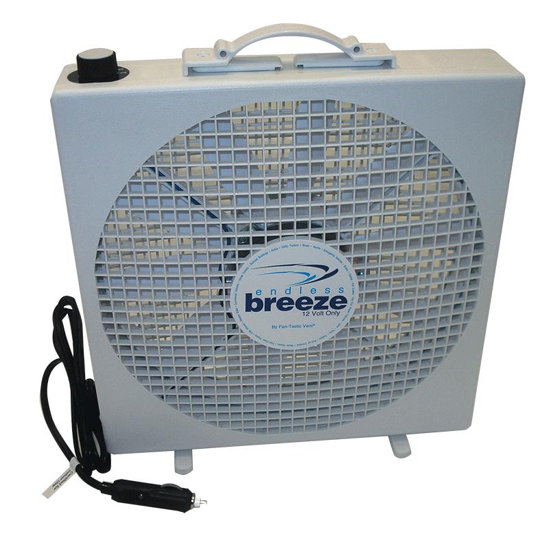 Fantastic endless breeze fan 12v caravan rv camping for 12 volt window fan