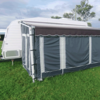 Coast Awning Wall Kits To Suit 15' Rollout Awning