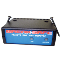 Breaksafe Remote Battery Monitor