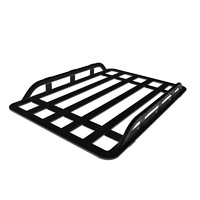 Aluminium Luggage Basket Black.SE00371AD-BK