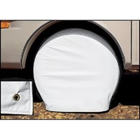 Adco Tyre Cover, 686 - 737mm Diameter, White