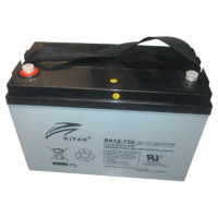 RITAR 12V 120AH AGM DEEP CYCLE BATTERY. RA12-120SD