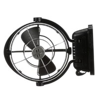 "Caframo Sirocco II Elite 12/24V Black 7"" Gimbal Fan w/ 4 Speed 7012CABBX"