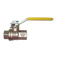 "Ball valve BSP female x BSP female 1/4"" x 1/4"""