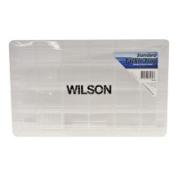Wilson Lrg Tackle Tray 24 Compartment - 355mm x 220mm x 50mm. TB-047