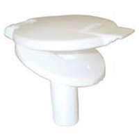 WATER FILLER AC41 W/LID NON LOCKING WHITE. 136039-323