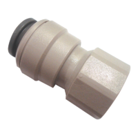 JG FEMALE PLASTIC CONNECTOR FOR 12MM x 3/8 FBSP. CM451213FS