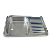 Smev Stainless Steel Sink & Drainer  - Top Fixing