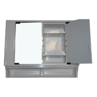 VT90 BATHROOM MODULE-UPPER VANITY SECTION 560 x 670 x 130MM. C6307G