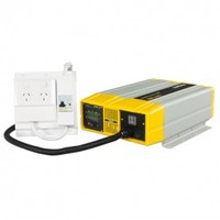 Xantrex PROsine 1000W / 24 volt inverter (with auto AC transfer switch)