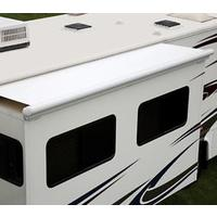 "Elite Slide Topper Awning - Polar white 120""�"