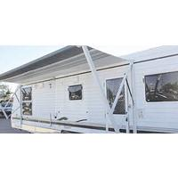 Power Awning 18' Granite