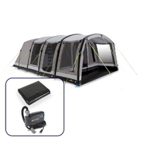 Dometic Stradbroke 6 TC Air Inflatable Camping Tent, 6-Person