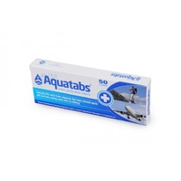 Aquatabs purifying tabs