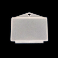 REGO LABEL HOLDER PLASTIC RECTANGULAR
