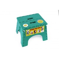 EZ-FOLD STEP-STOOL GREEN 230MM HIGH