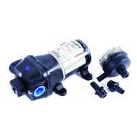 FLOJET 12V PUMP &FILTER-1/2BRB NEEDS NO ACCUMULATOR