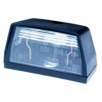 AUTO LIGHT NO. PLATE BRITAX 868-00