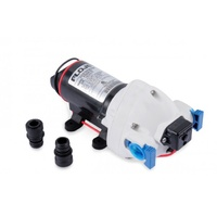 FLOJET 12V TRIPLEX PUMP C-TICK QUAD FITTINGS T/S 12MM OD TUBE