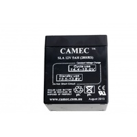 Camec Replacement Battery 5 Amp to suit Camec Break Away System