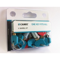 1 KEY BARREL KIT - 8 ASSY KEY & NEW ASSY KEY