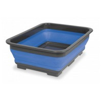 POP UP TUB 7L GREY AND BLUE