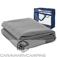 7 X 2.5M Annex Floor Mat - Grey