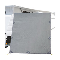 DZ 2.1 x 1.8m Grey Pop Top Caravan End Screen