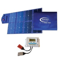 Baintech 120W Solar Blanket with watt meter