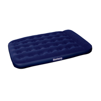 Double Size Inflatable Air Mattress - Navy
