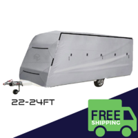 Caravan Cover 22 - 24' (6.6m - 7.3m) Heavy Duty