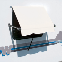 Carefree White SL Roll Out Window Awnings