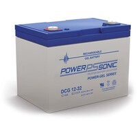 Power-Sonic 12V 32A Gel Deep Cycle Battery