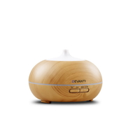 300ml 4-in-1 Aroma Diffuser - Light Wood
