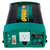 Enerdrive ePOWER Pure Sine Wave Inverter 2000W / 12 volt with Remote, RCD & AC Transfer Switch