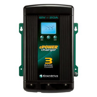 Enerdrive ePOWER 20A/12V Smart Charger - Three Output