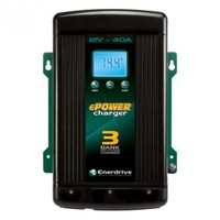 Enerdrive ePOWER 40A/12V AC Smart Charger - Three Output