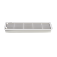 Dometic LS300 Large Vent (Frame & Grill) - White
