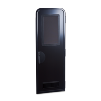 Columbia caravan door H1850 mm RH black/black