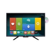 "NCE 24"" Smart LED LCD TV/DVD Combo 12VDC with Wifi and Bluetooth Connectivity"
