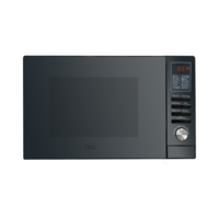 NCE 25L Black Stainless Steel RV Microwave