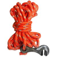 Long Guy Rope with Clip (Reflective)