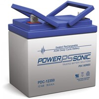 Power-Sonic 12V 35.4Ah AGM Deep Cycle Battery