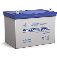 Power-Sonic 12V 80Ah AGM Deep Cycle Battery