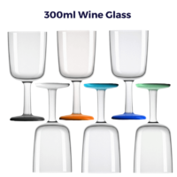 Palm Marc Newson Tritan Wine Glass with NonSlip Base