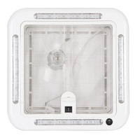 Finch Australia 12V Shower Hatch with LED, 320 x 320mm Cut Out