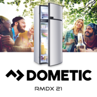 Dometic RMDX21 190Lt MES 3-Way Fridge - RIGHT HINGED