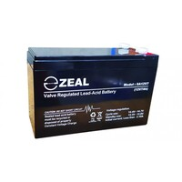 Zeal 12V 7Ah AGM Battery