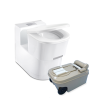 Dometic Saneo® cassette toilet - Ceramic bowl, Low Console