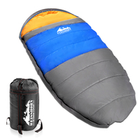 Weisshorn Extra Large Sleeping Bag - Blue & Grey